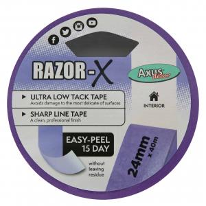 Razor-X Ultra Low Tack Tape