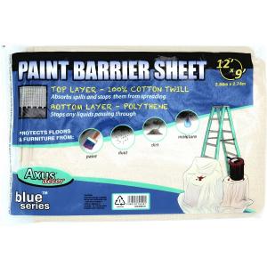 Blue Series-  Paint Barrier Sheet - 12' X 9' (3.66M X 2.74M)