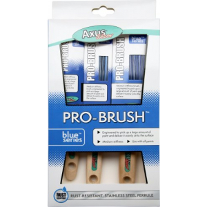 """Blue Series - Pro-Brush - 3 Brush Set (1"""", 1.5"""", 2"""")"""
