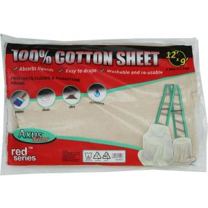 Red Series - 100% Cotton Sheet - 12' X 9' (3.66M X 2.74M)